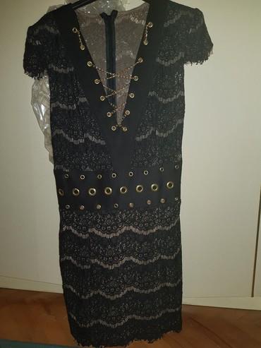Haljine | Novi Banovci: Iv ice haljina,čipka,obučena jednom. Veličina S