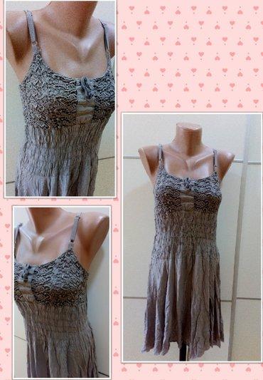 Ženska obuća | Bajina Basta: Haljina ili tunika iz uvoza kvalitetna. Vel M. Rastegljiva u gornjem