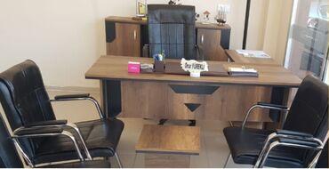 🇹🇷Türkiye istehsalı olan ofis mebeli.   1 ədəd Müdür Masası (1.60 cm 7