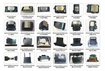 оригинальные расходные материалы oki pla пластик в Кыргызстан: Печатающие головки !!!Оригинальные DX4/DX5/DX6/DX7/DX10-11(XP600)