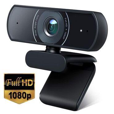 web камера в Кыргызстан: Продаю новые веб-камеры. Качество очень хорошее. Webcam 1080P HD