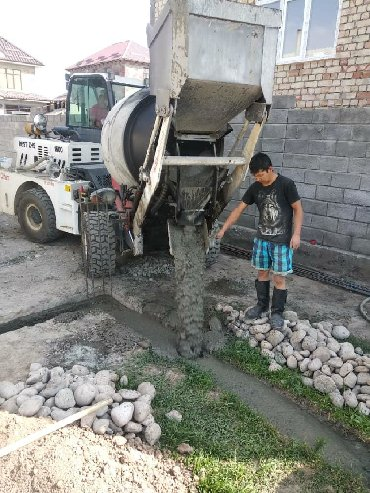 оригинальные-расходные-материалы-newtone-abs-пластик в Кыргызстан: Фундамент фундамент фундаментке бетон куябыз бетон куйган машина менен