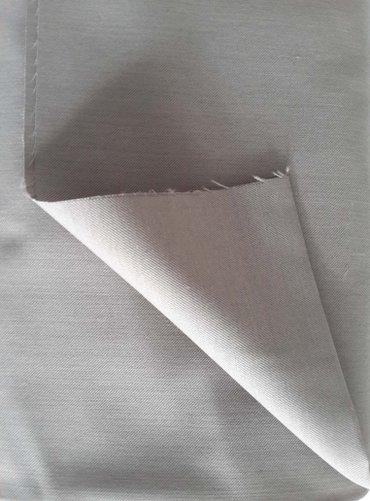 Плащевая ткань. цвет бежевый. размер 1,3*9 м. Цена 600 сом/м в Бишкек