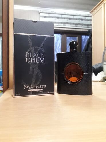 Личные вещи - Бишкек: BLACK OPIUM 150ml Покупал в Дубаи