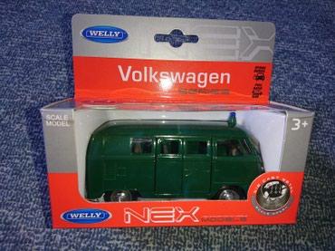 Metalni kombi VW ( Volkswagen) - Policija - Belgrade