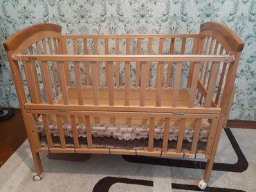 купить качалку детскую в Кыргызстан: Продаю детскую кровать. Прошу без матраса