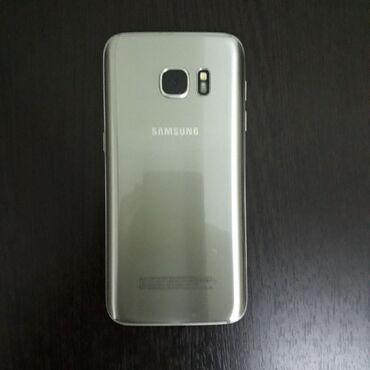 Samsung s 7 - Кыргызстан: Б/у Samsung Galaxy S7 32 ГБ Серебристый