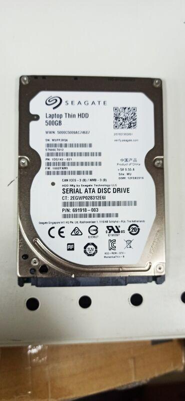 500gb wd green sata в Кыргызстан: Жёсткий диск для ноутбука 500gb Seagate в отличном состоянии