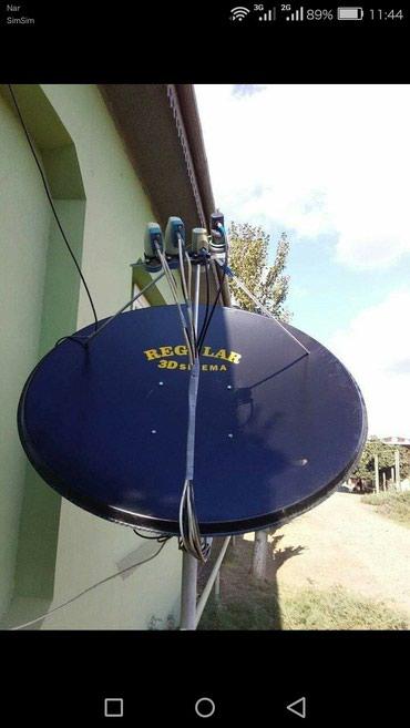 Bakı şəhərində Krosna antena ustasi
