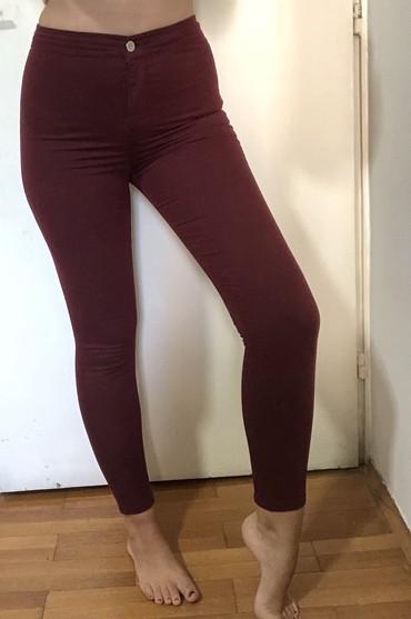 Pantalone-dublje-mekane-i-rastegljive-xl - Srbija: Nove pantalone. Od kepera. M velicina. Jako udobnje i rastegljive