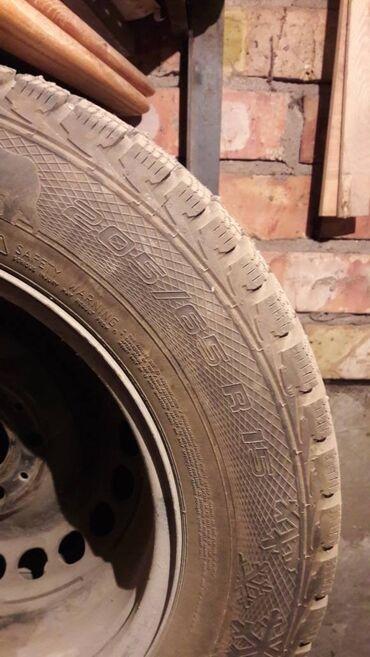 шина 205 65 r15 в Кыргызстан: Шины и диски комплект 18000с.R15/205/65(шипованная)Протектор