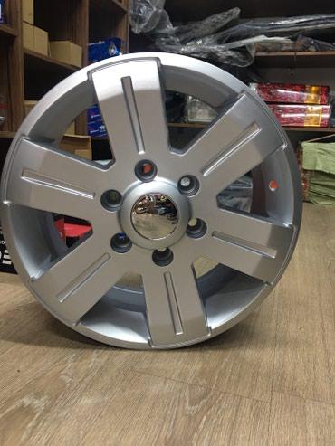 Диски титановые R16 на Рекс Мерседес Бенц, грузоподьемность-1400 кг