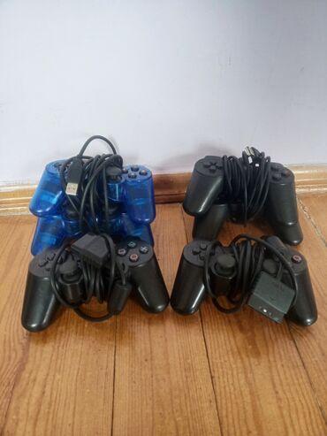 Playstation (2 pultları 2 ədəd) (4 ədəd usb ilə) hamsı birlikdə 30azn