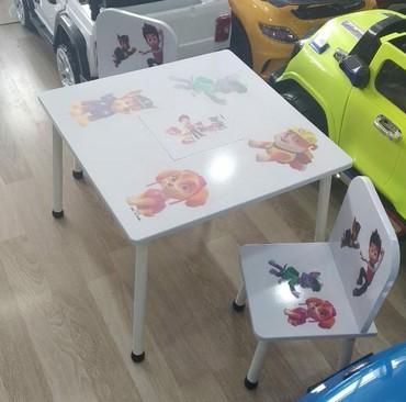 uşaq masaları - Azərbaycan: Usaq ucub masa desti 100 azn seher daxili catdirilma