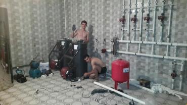 теплые полы отопление котлы в Кыргызстан: Отопление и теплый пол. Установка котлов. Монтаж водоснабжения. Автомо