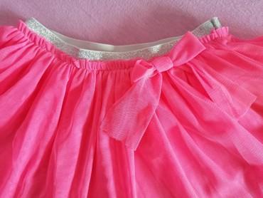 Suknja struka od - Srbija: TeraNova suknjica od tila, boja jarko pink, za uzrast od 12-18 m