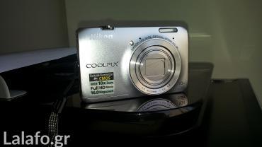 Ψηφιακή φωτογραφική μηχανή nicon coolpix s6300 με 10χ οπτικό ζοομ 16mp