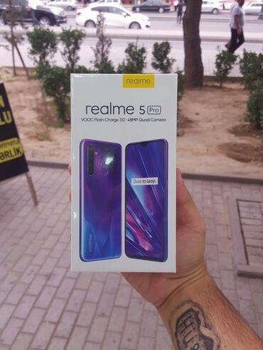 """mobile - Azərbaycan: REALME 5 PRO(4/128)Satis Rəsmi """" FİRMADA """" Aparilir.QİYMƏT:465Topdan"""