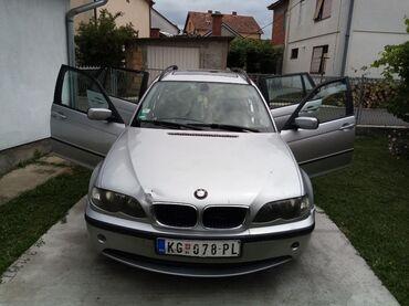 Bmw 3 серия 320i efficientdynamics - Srbija: BMW 320 2 l. 2002 | 350000 km