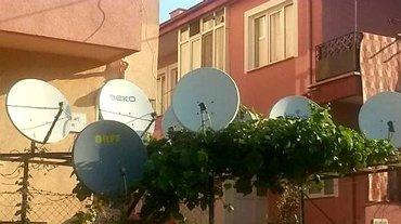 Bakı şəhərində Krosna antena 400Türk 17 Azəri 22 Rus 10Avropa Çatdırılma və quraşdırı