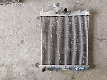 ниссан-микра-бишкек в Кыргызстан: Nissan March k12 Радиатор охлаждения двигателя Ниссан Марч К12Радиатр