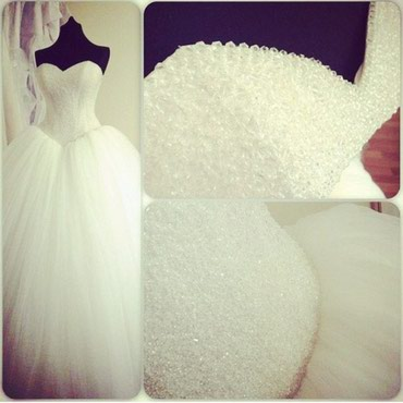 Шикарное новое свадебное платье! в Лебединовка