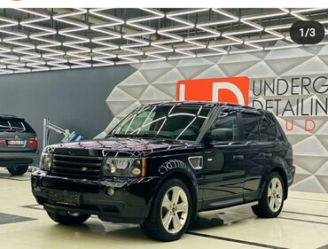 Land Rover в Бишкек: Land Rover Range Rover Sport 4.2 л. 2008   123456 км