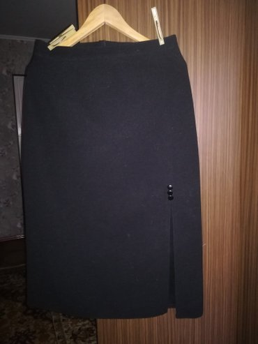 Юбка черная с подкладкой размер 48 в Бишкек