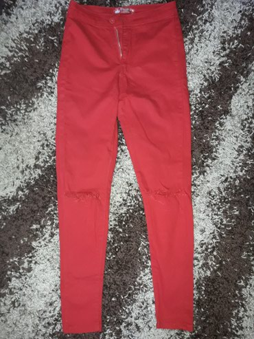 Kozne-patalone-crvene-broj - Srbija: Crvene pantalone, M velicina