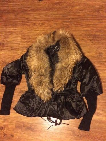 Bakı şəhərində Куртка Chloe, мех лисы, воротник отстёгивается, в состоянии новой