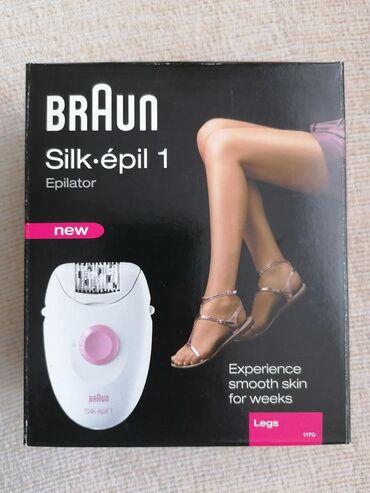 Nov, neotpakovan Braun silk epil 1 1170. EverSoft Deluxe je sistem za