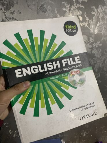 wexler book в Кыргызстан: English file students book! Intermediate level. Только книга присутсву