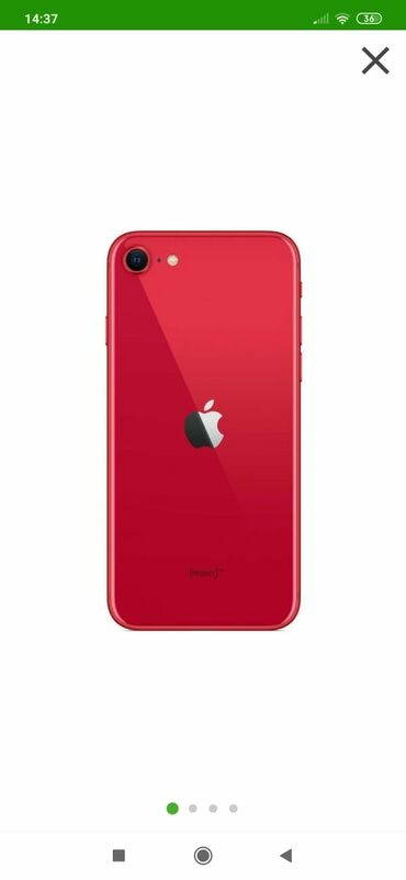 apple iphone se - Azərbaycan: Yeni iPhone SE Qırmızı