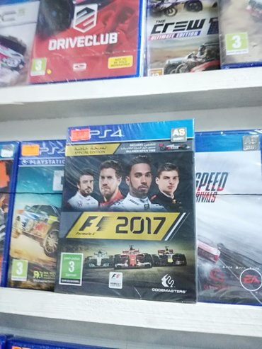 Bakı şəhərində F1 ps4