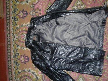 Куртка кожанная на мальчиков подростков  деми ( кожзам) почти новая в Токмак