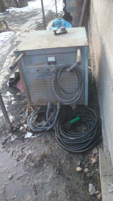 Сварочный апорат - Кыргызстан: Сварочный аппарат постоянного тока ВД -400, сварочные кабеля сечением