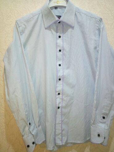 44-46 р., ворот. 39 Муж., классич. рубашка, Турция, с длин. рукавом