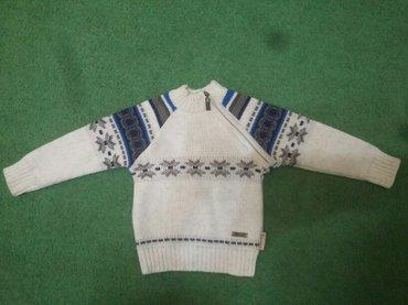 Фирменный шерстяной свитерок на1-2года рост 80-см.новый в Бишкек
