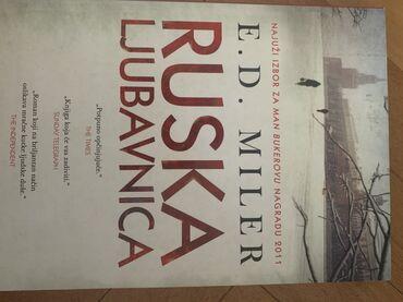 Knjige, časopisi, CD i DVD | Kikinda: Ruska ljubavnica Vulkan E D Miler knjiga