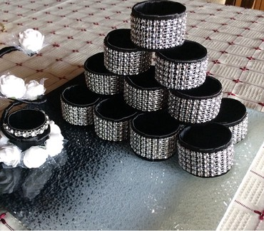 Kuća i bašta | Paracin: Prstenovi za salvete u boji po zelji.Izrada po porudzbini.Prsten za