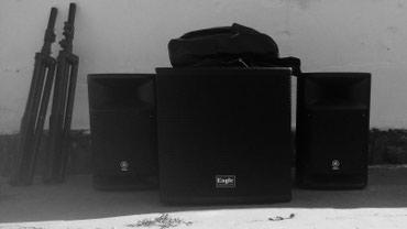 Звуковое оборудование аренда в Бишкек