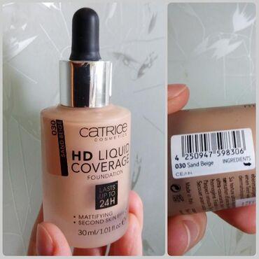 Тональный крем Catrice HD Liquid Coverage. Оттенок 030