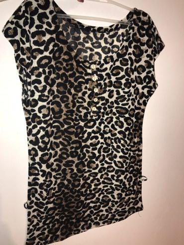 Print-postavljen - Srbija: Majica M velicine, leopard print