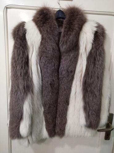 Nova bunda od polarne i srebrne lisice 36Savrsena nova bunda