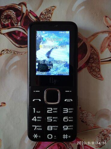 Куплю б у телефон - Кыргызстан: Продаю сотовый телефон Fly Ezzy 10 в идеальном состоянии, кнопочный