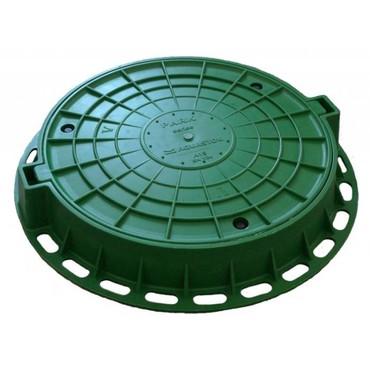 Люк пластиковый канализационный. доставка и установка