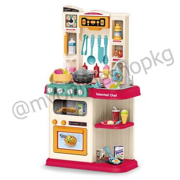Игровая кухня для детей размер собранной кухни: 78.5х42.5х24 см.Размер