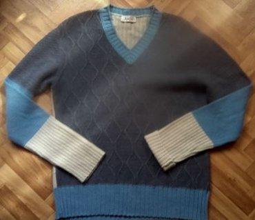 Теплый мужской джемпер. Отличное состояние. На 52 - 54 размер и в Бишкек