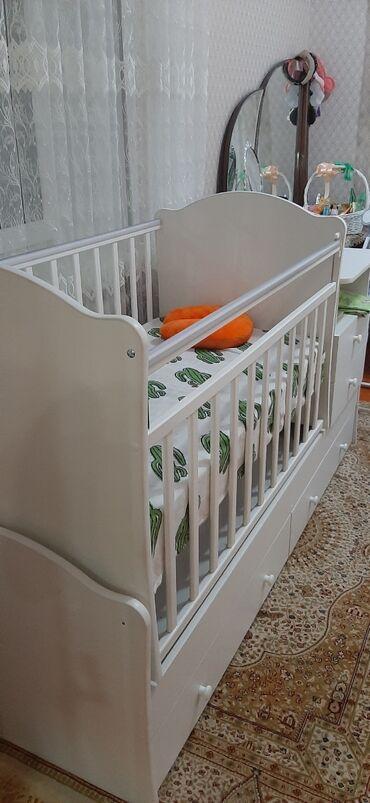 бу детские кроватки в Кыргызстан: Новая детская кроватка, ребенок не захотел лежать в ней Качество