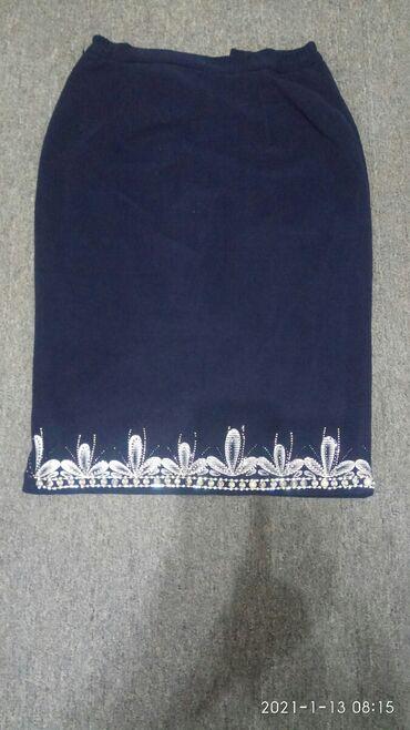 Новая юбка карандаш вышита стразами